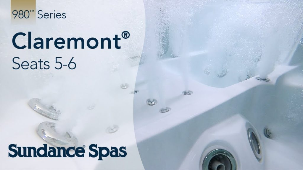 Claremont™ Hot Tubs: 980™ Series Spa (seats up to 6)