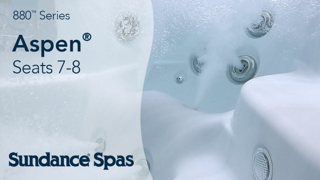 Aspen® Hot Tubs: 880™ Series Spa (seats 8)
