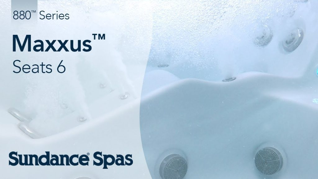 Maxxus™ Hot Tubs: 880™ Series Spa (seats 6)