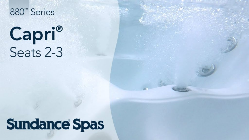 Capri® Hot Tubs: 880™ Series Spa (seats 3)
