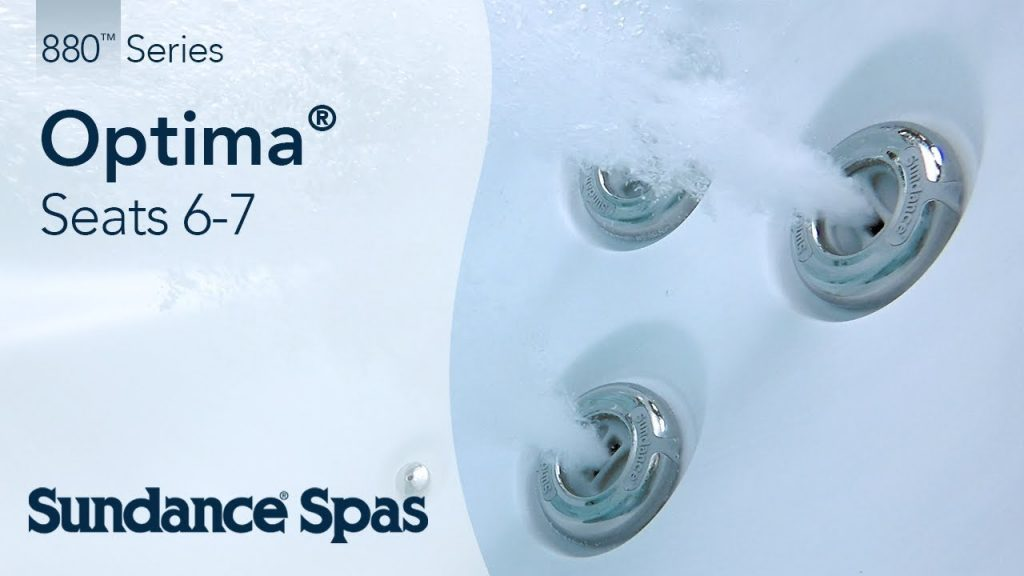 Optima® Hot Tubs: 880™ Series Spa (seats 7)
