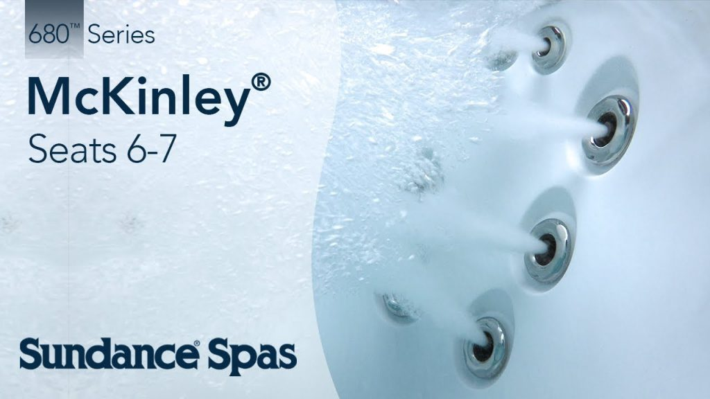 McKinley® Hot Tubs: 680™ Series Spa (seats up to 7)