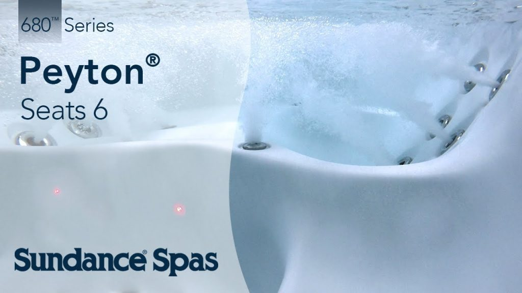 Peyton® Hot Tubs: 680™ Series Spa (seats up to 6)