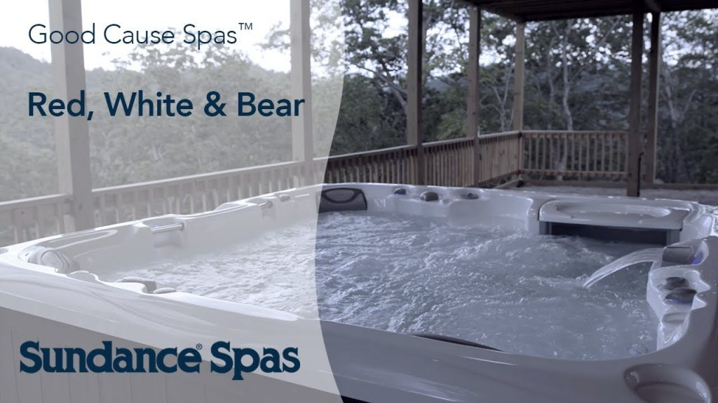 Red, White & Bear Cabin and Sundance® Spas