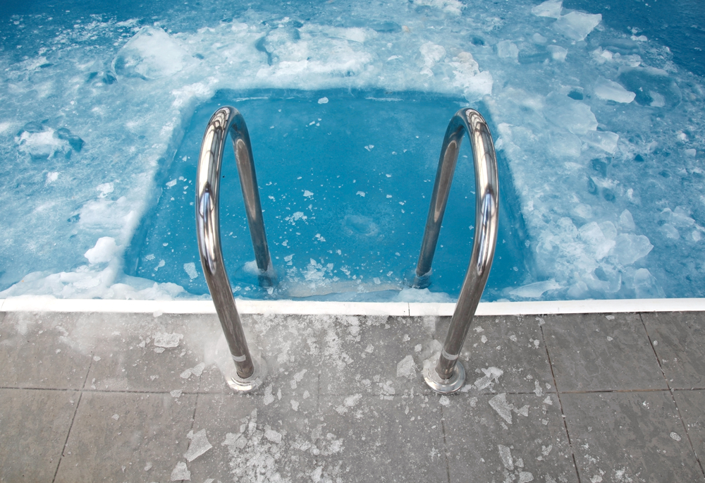 Pool with Ice
