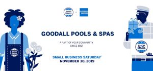 Goodall Pools Small Business Saturday Sale