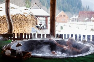 Spa and benefits in winter