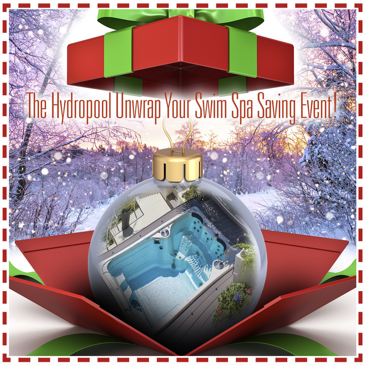Hydropool 2020 Unwrap Your Savings event