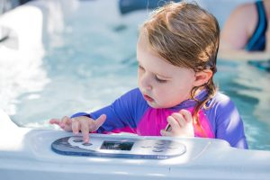 Children Use Hot Tubs